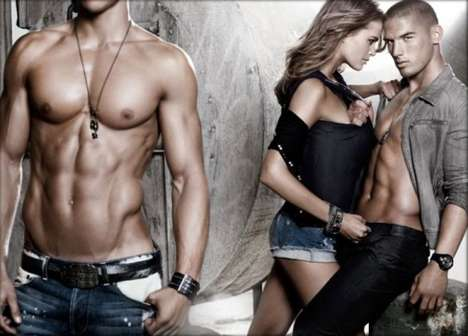 Faceless Ads - Armani Exchange Causes Uproar With Headless Model in F/W '09