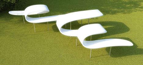 Spiraling Urban Seating
