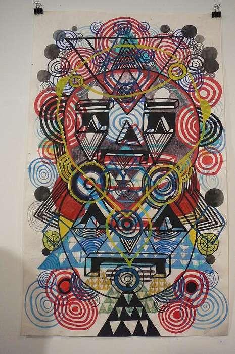 Neo Tribal Pattern Art