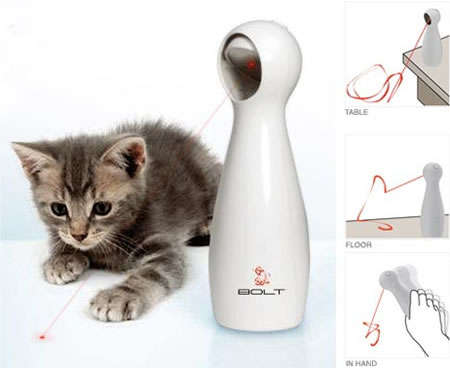 Automatic Lasers for Cats