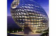 74 Sinuous Architecture Designs - From Undulating Offices to Curvaceous Skyscrapers