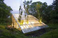 Greenhouse Homes - Hiroshi Iguchi's 'Camouflage House' is in Sync With Nature