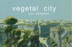 Futuristic Utopian Landscapes - Luc Schuiten's 'Vegetal City' is Harmonious With Nature