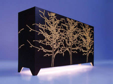 Perforated Lighting Cabinets