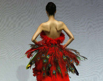 Fiercely Fashionable Feathers - Not Even Big Bird Is Safe From the Onslaught of Designers