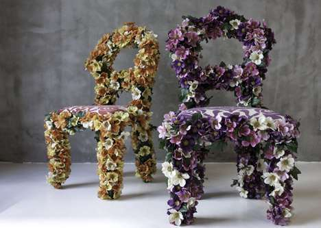 25 Flower-Inspired Furniture Features