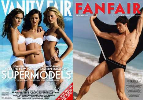 Iconic Beachtography - Vanity Fair Says 'Beach, Please!' in Celebratory Feature
