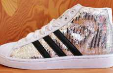 Disco Ball Kicks - 'Adidas Originals by Originals Jeremy Scott JS Sequin' Shoes Are Retr