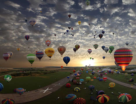 Timelapse Air Balloontography