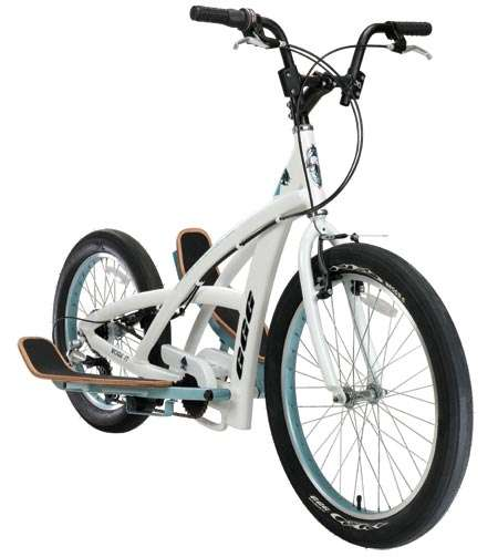 Don't Pedal.  Step, With the 3 G Stepper Bike