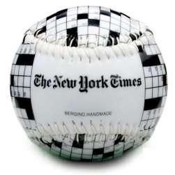 New York Times Crossword Puzzle Baseball