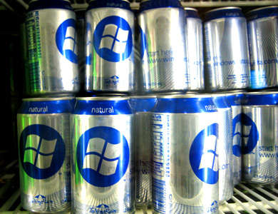 Computer Geek Sodas - Microsoft Takes Over the Carbonated Drink Sector