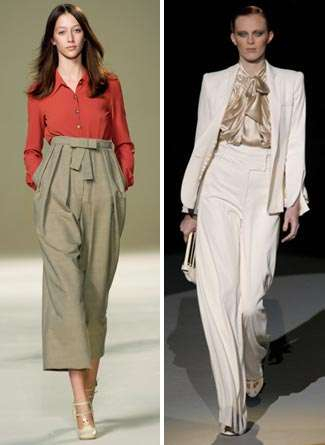 High Waist Pants are the New Low Cut Jean
