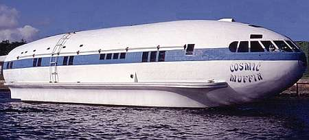 Rare Boeing 307 Stratoliner Transformed Into A Boat