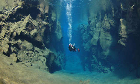 Silfra Cave in Iceland is Earth's Coolest Dive