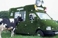 Grass & Daisy Smoothie Vans - Pimped Out Rides by Innocent Drinks