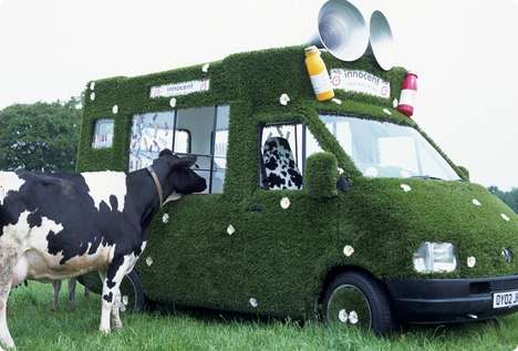 Grass & Daisy Smoothie Vans