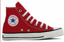Customizable Charity Shoes - The Converse 'Make Mine (RED)' Campaign Lets You be the Designer