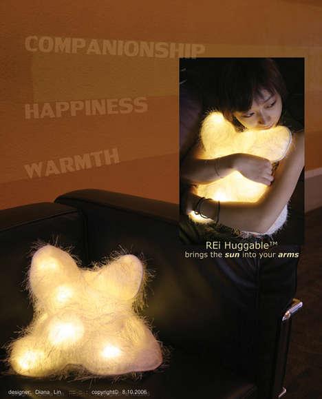 Huggable Lighting Pillow