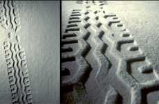 Tire Tracks Rugs
