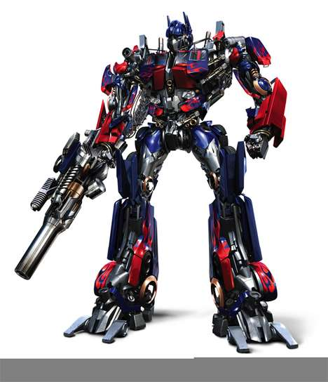 Robot Movies - Transformers Movie Leaked Design, Toy Prototypes and Movie Images