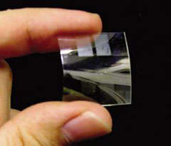 Flexible And See-Through Battery
