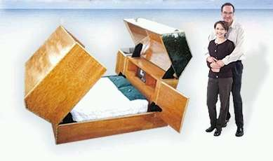 Extreme Security Bed - Keeps Safe From Bad Guys, Bullets and Bio-Terrorism