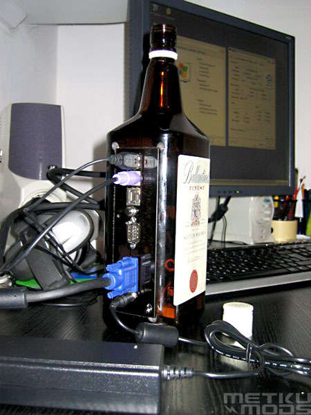 Whisky PC - Computer In A Bottle