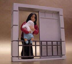 Michael Jackson Balcony Drop Action Figure