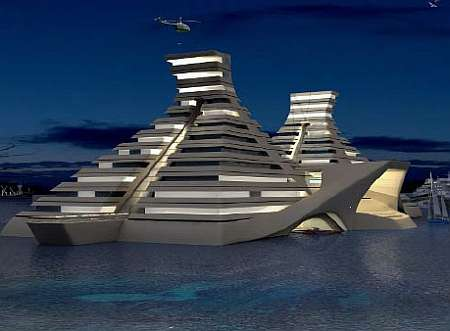 Floating Pyramids - New Dimensions In Luxury Living