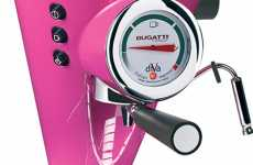 Supercar Coffee Machines - Bugatti Espresso Maker is a Kick Start to your Engine