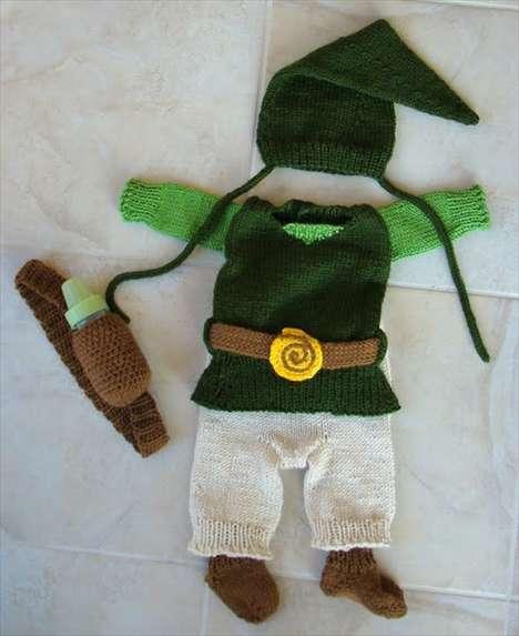 Knitted Nintendo Gear