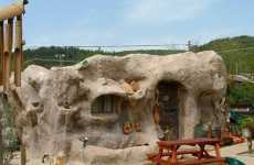 Caveman Houses - The Flintstones House Can Be Lived in Comfortably