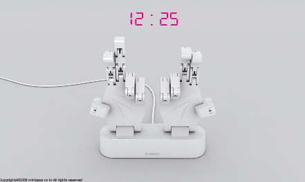 Hand Sign Clocks