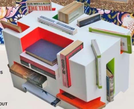 17 Brilliant Bookshelves