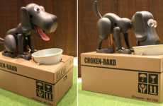 Coin Collecting Canines - The Choken Bako Bank Has a Robotic Money Hungry Dog