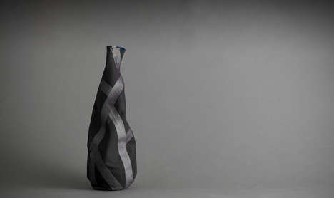 Twisted Flower Decor - The V20 Fabric Vase is Great for Haute Horticulturalist