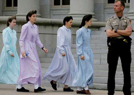 Skin-Covering Prairie Dresses