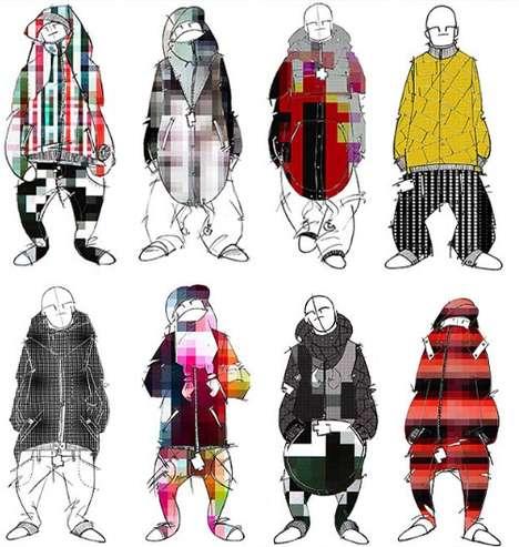 Pixelated Fashion