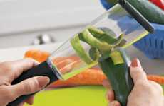 Kitchen Scrap Catchers - The Veggie-Peel Keeps Counters Clean