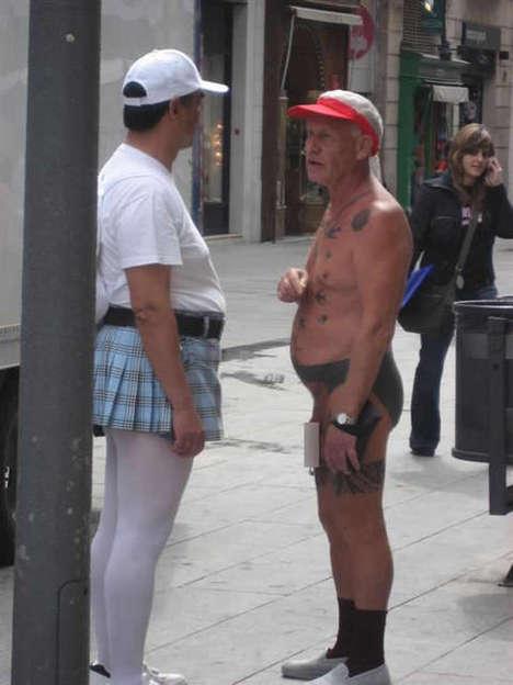 Tattooed Underpants