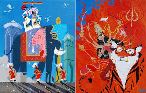 Ethnic Tribute Artwork