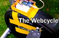 Exercise-Fueled Internet Access - The Webcycle Matches Internet Speed to Cycling Pace