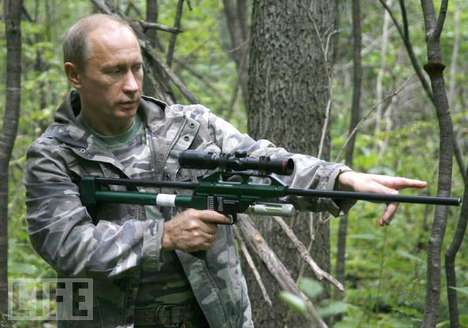 Macho Olympics - Russian President Vladimir's Neverending Quest to Assert His Manhood
