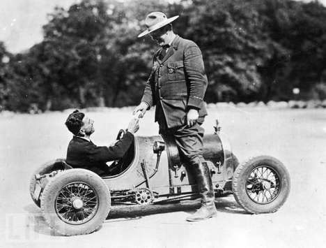Ancient Automobile Photographs - Some of the World's Smallest & Oldest Cars