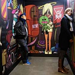 Elevator Graffiti