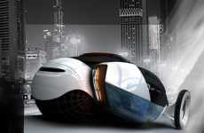 Self-Charging Cars - Bio Top Concept Car Introduces Self-Generating Wireless Electricity
