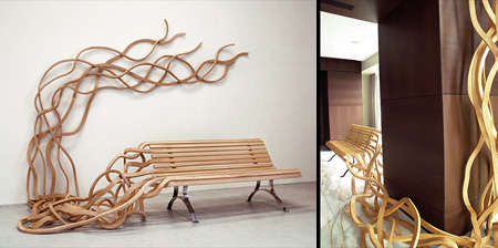 Spaghetti Benches