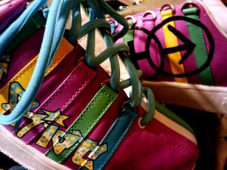 Handpainted Footwear - Joey Escobar's Kustom Kicks Bring Style With a Personalized Touch