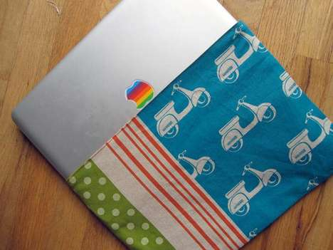 DIY Laptop Blankets - Ars Technica Shows You How to Turn Your Favorite Blanky into a Useful Case